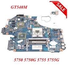 NOKOTION MBRCG02006 MBRCG02007 P5WE0 LA 6901P Laptop motherboard für Acer Aspire 5750 5750G MB.RCG 02,006 DDR3 GT540M Voll Getestet