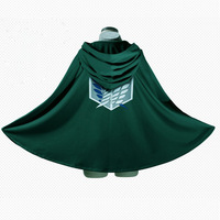 Japanese Anime Shingeki No Kyojin Cloak Cape Clothe Cosplay Attack On Titan Costume Cool Unisex Adult