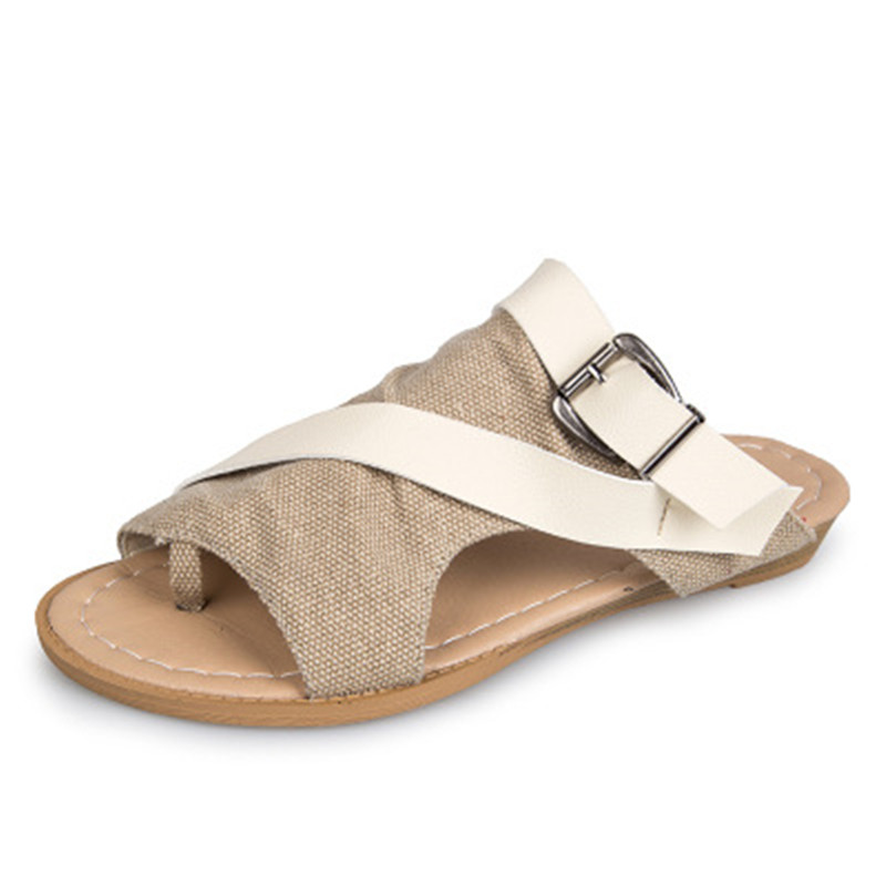 Women Sandals Gladiator Peep Toe Buckle Strap 2018 Design Women Flats Shoes Summer Beach Ladies Shoes Slipper Shoes Women summer sandals women clogs beach slipper women shoes casual sneakers women flats sandals ladies shoes zapatos mujer