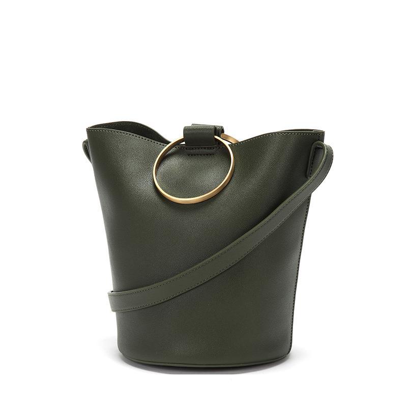 Luxury Handbags Women Bags Designer Bags Fashion Tote Bags Handbag Women Famous Brand Bucket ArmyGreen Weiblicher Beutel in Shoulder Bags from Luggage Bags