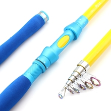 NEW Carbon 1.8M 2.1M 2.4M 2.7M 3.0M  Portable Telescopic Fishing Rod Spinning Fish Fishing Tackle Lure Weight 7-40g Sea Rod printio рик и морти