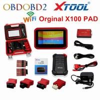 Original X 100 PAD XTOOL X100 PAD Auto Key Programmer Update Online X 100 Pad Update Online EEPROM Adapter DHL Free