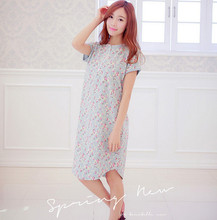 2015 Fashion NEW sexy Women's Sleepwear nightgown Women's Home Clothes sleepshirt nightdress Free Shipping