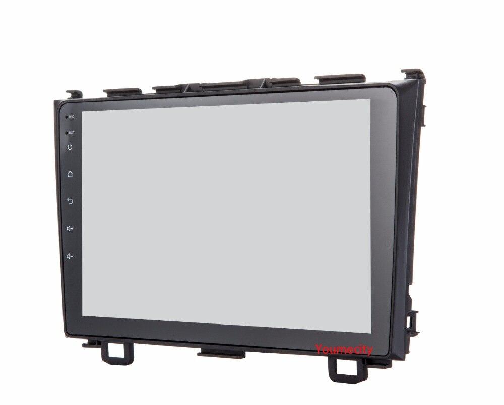 Lecteur dvd de voiture Youmecity GPS Navi pour Honda CRV 2007-2011 IPS écran capacitif 1024*600 + wifi + BT + SWC + RDS + Android 8.1 + 2G RAM - 3