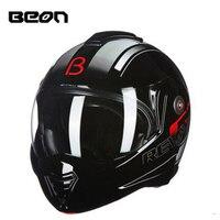 BEON флип мотоциклетный шлем Мужская Женская мода анфас модульная шлем