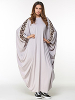 new arab elegant loose abaya kaftan islamic fashion muslim dress clothing design women solid color dubai abaya