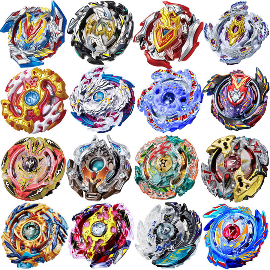 box-pack Bey blad <font><b>Beyblade</b></font> <font><b>BURST</b></font> B122 No Launcher and Box Metal Plastic God Spinning Top Bey Blade Blades Toys for Children image
