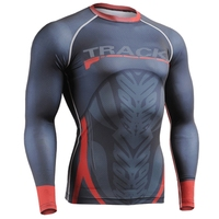 Life on track deportes 3d de impresión t camisa de los hombres al aire libre correr Gimnasio Correr Transpirable de Secado Rápido de Manga Larga T-shirt Tops