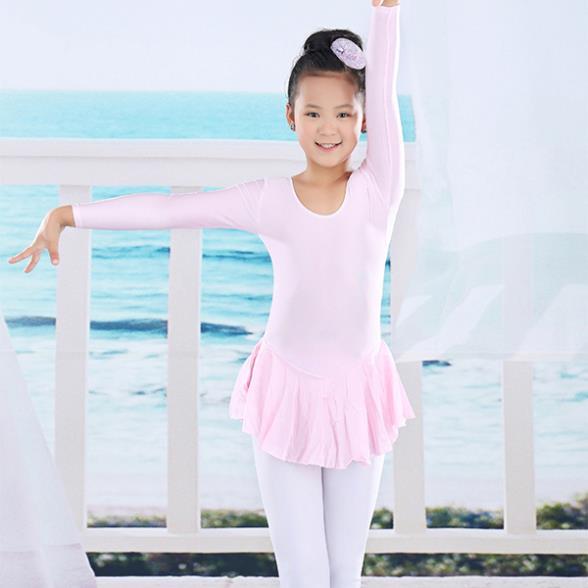 Hot Sale Full Length Girl Dancing Cloth Children Girls Ballet Dress Kids Gown Dance Dresses Baby Party Girl Leotard