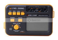 VC60B+ Original Digital Insulation Tester Megger MegOhm Meter RUOSHUI 60B+
