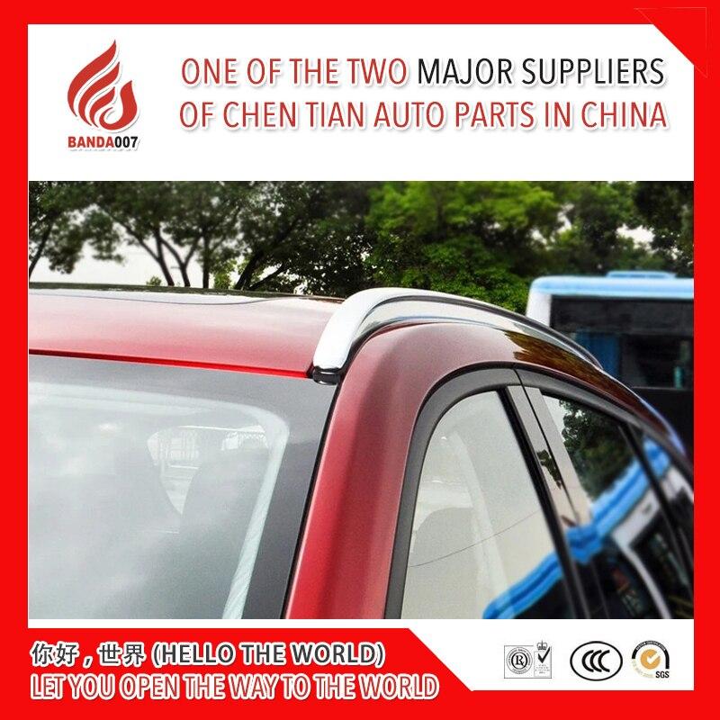 2018 champion des ventes de Haute qualité En alliage D'aluminium vis installer côté rail porte-bagages de bar pour Mazda CX-5 cx5 2017 2018 17 18