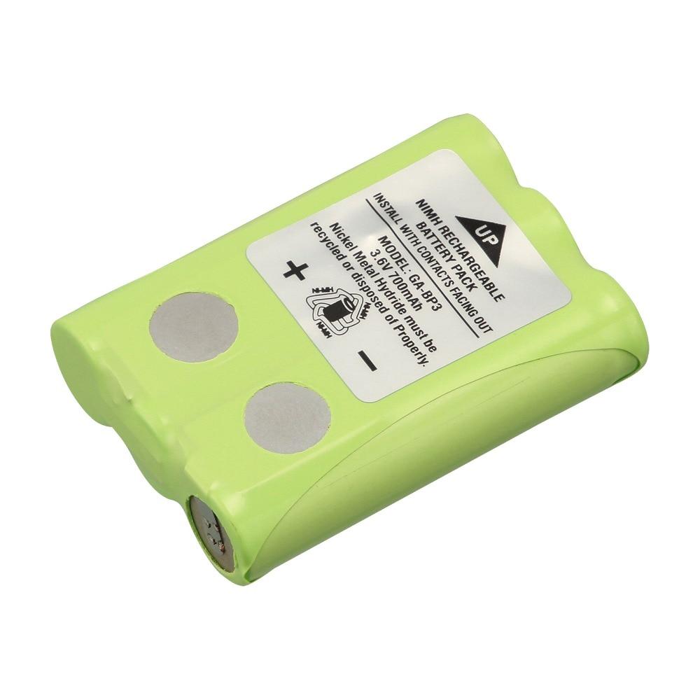 1PCS 3.6V 700mAh GA-BP3 Batteries for Cobra PR145/150 /155G Walkie-Talkie 2-Way Radios