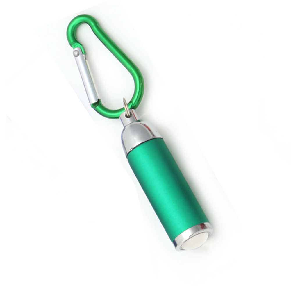 מיני LED נייד פנס קמפינג Keychain לפיד שימושי אור מנורה