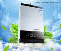 Mais novo inteligente controle de temperatura constante forte tipo emissão lgp instantânea/tankless 12l glp gás propano aquecedor de água quente|gas hot water heater|gas hot waterwater heater -