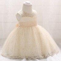 2019 Summer Vestido Infantil New Born Baptism Dress Frocks Baby Girl Dress Pageant Princess Dress 1st Birthday Party 6 24 Month