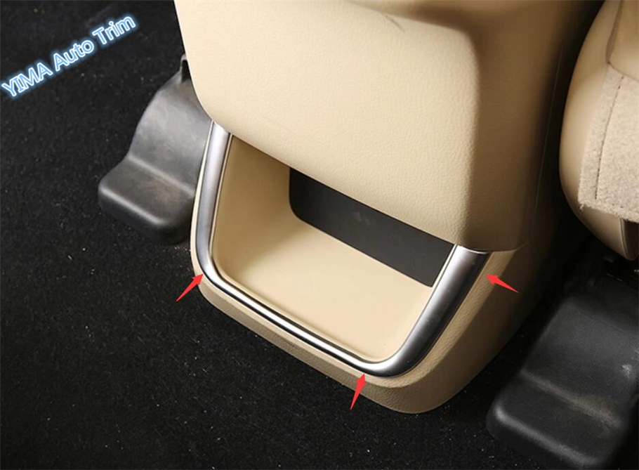 Armrest Box Switch Cover Accessories For Toyota Highlander Kluger 2017-2019 ABS