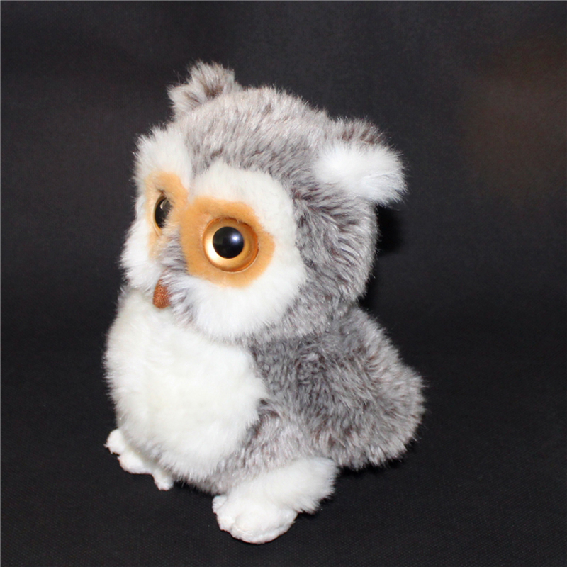 Soft Big Eyes Plush Toy Doll Child Animals Owl Animal Simulation Hiboux Funny Stuffed Toys Brinquedos Menina Kids Toys 60G0289 45cm big size anime kawaii avatar last airbender appa plush toy soft juguetes stuffed animal brinquedos doll kids toys