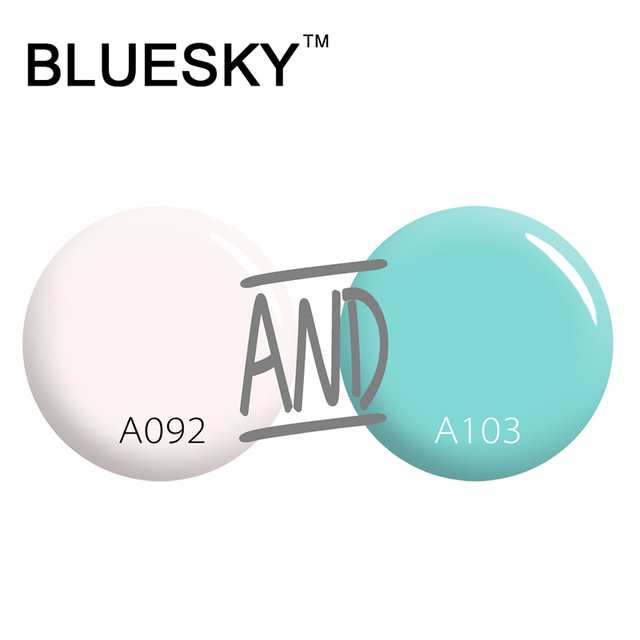 Bluesky High Quality Supplier Factory Wholesale Gel Polish 2016 Top Popular UV Led Soak off Gel