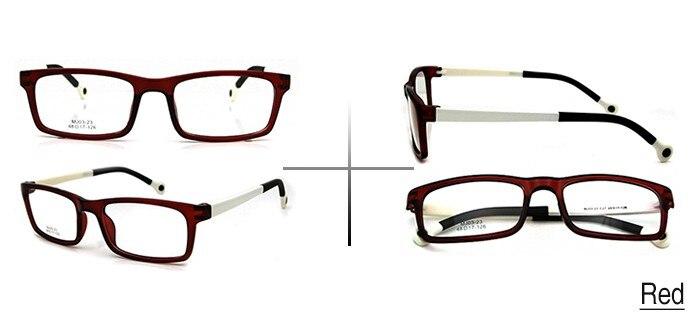 ESNBIE Cool Kids Óculos Quadros Retangulares do