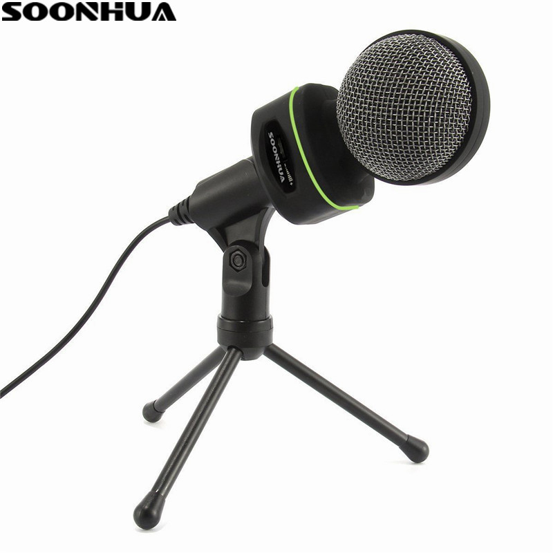 Baru Profesional USB Podcast Kondensor Sangat Sensitif PC Mikrofon ...