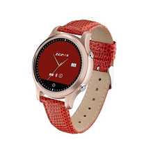Freies Verschiffen Neue 2016 ZGPAX S360 bluetooth reloj inteligente Runde Smartwatch Surport Facebook Twiteer E-mail für Android IOS
