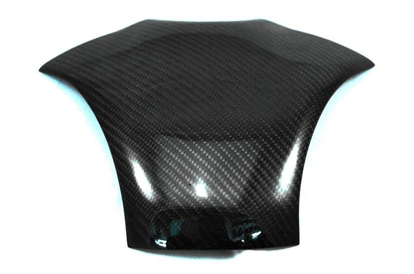 Real Carbon Fiber Fuel Gas Tank Protector Top Clamp for Honda CBR600RR 2007-2012