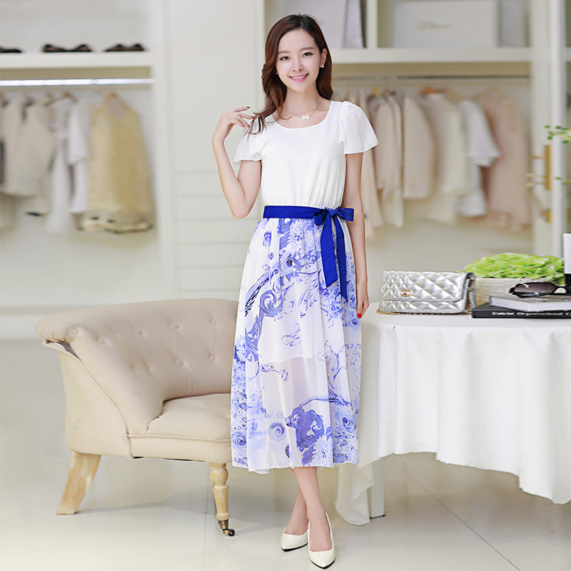 Online Get Cheap Korean Floral Dress -Aliexpress.com  Alibaba Group