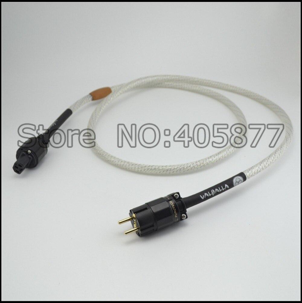 Hi end audio audio Valhalla schuko cavo di alimentazione Amplificatore Lettore CD cavo di alimentazione 2 m cavo di alimentazione hifi