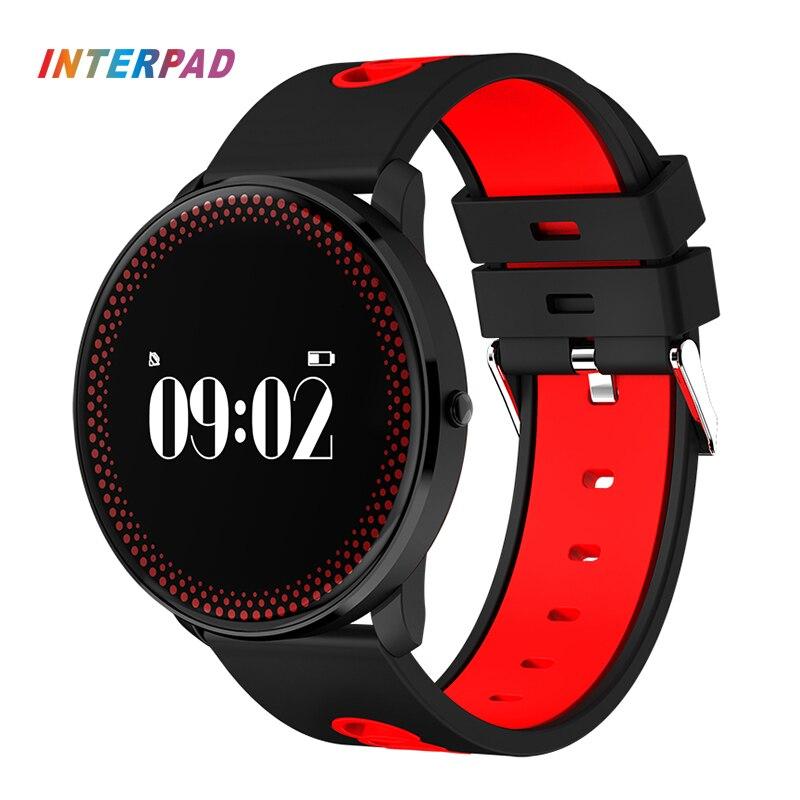 2017 Новейшие Ультра тонкий interpad ID007 смарт-браслет Android IOS <font><b>Bluetooth</b></font> Smart Band Приборы для измерения артериального давления сердечного ритма умный Бра&#8230;