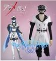 New Akame Ga Kiru Kill ! cosplay NIGHT RAID hero Esdeath cosplay costume dress+belt+gloves+hat+scarf set