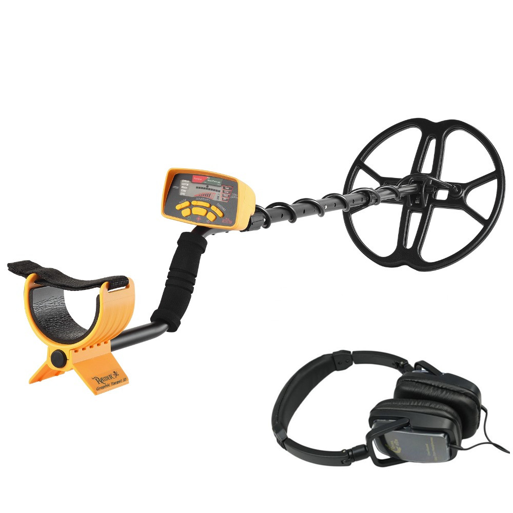Professional Underground Metal Detector MD6350 Treasure Hunting Tool With LCD Display MD6250 Update Version Gift GP Detector