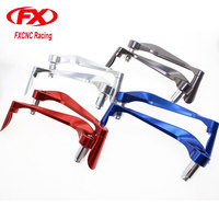 FX Motorcycle Aluminum Universal 7 8 Inches 22mm CNC Handlebar Protector Brake Clutch Protecter Motorcycle Lever