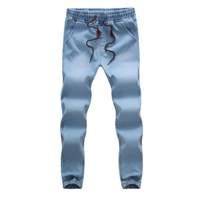 New 2017 Mens trousers Casual Length Straight Loose Fit Harlan Pants cowboy feet M 5XL Male