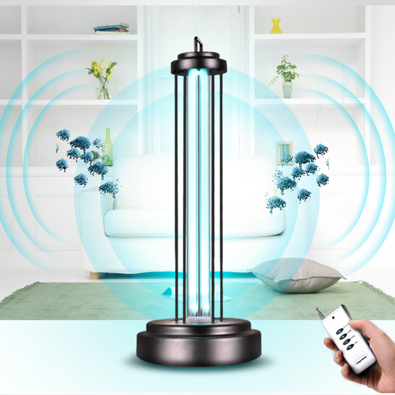 UV Lamp Mobile Ultraviolet Germicidal Lamp with Remote Control 36W 220V UV Bulb Disinfection Lamp Sterilization Lamp UV LED uv disinfection lamp household medical germicidal lamp sterilization lamp high power