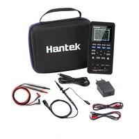 Hantek 3в1 цифровой осциллограф + генератор сигналов + мультиметр 40 мГц 70 мГц USB Ручной 2 канала Универсальный Osciloscopio