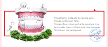 Herbal Mint +Cranberry Fresh Toothpaste Whitening Remove Yellow Stains