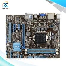 Для p8b75-m lx оригинальный используется для рабочего материнская плата для intel b75 сокет LGA 1155 Для i3 i5 i7 DDR3 16 Г SATA3 USB3.0 uATX