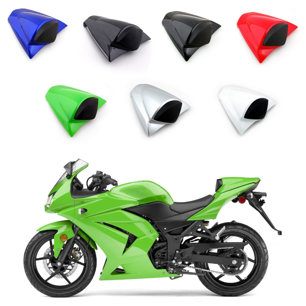 Areyourshop Motorcycle ABS Plastic Rear Seat Cover Cowl For Kawasaki Ninja ZX250R ZX250 2008-2012 New Arrival Motorbike Part