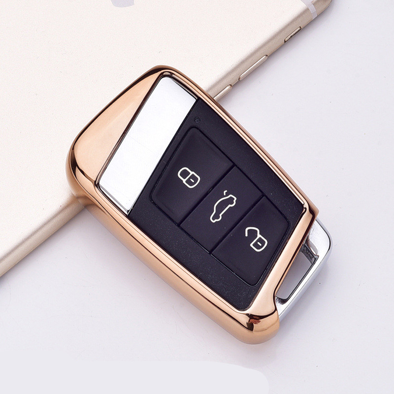 Image 5 - Soft TPU Protection Remote Key Cover Case For Skoda Superb A7 For Volkwagen Passat B8 VW Golf Gte Car Styling Accessorise-in Key Case for Car from Automobiles & Motorcycles