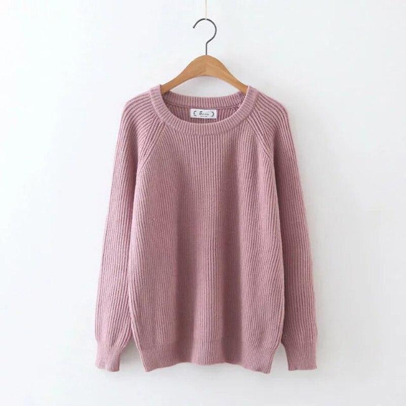 Nueva Moda Ronda Suéter de Cuello, tejer Suéter/Abrigo Delgado/Camisa de la Base