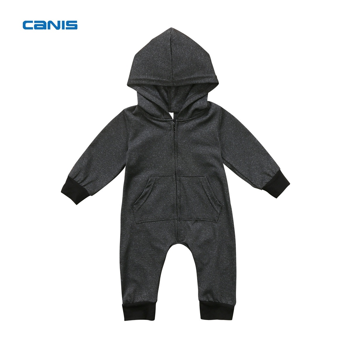 2017 Brand New Toddler Newborn Kid Baby Boy Warm Infant Romper Jumpsuit Hooded Clothes Zipper Sweater Outfit Autumn Warm Clothes puseky 2017 infant romper baby boys girls jumpsuit newborn bebe clothing hooded toddler baby clothes cute panda romper costumes