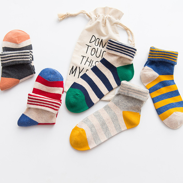 Soft Comfortable Cotton Sock  3