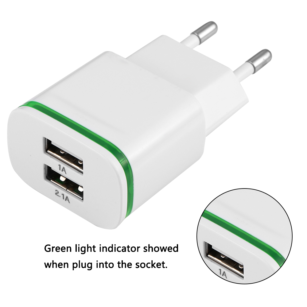 Universele Oplader Telefoon Us 2 69 37 Off 5 V 3 1a Universele Mobiele Telefoon Oplader 2 Usb Lader 2 1a 1a Eu Plug Travel Adapter Voor Iphone Samsung Ipad In 5 V 3 1a