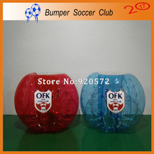 Free shipping ! Free Pump ! 10pcs (5Blue+5Red+2Pumps) Bubble Soccer,Zorb Ball,Bumper Ball,Human Hamster Ball On Sale