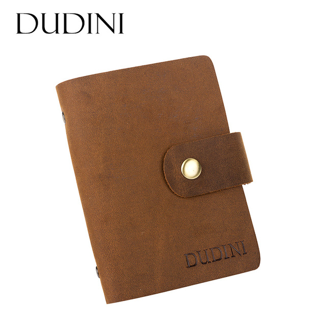 Retro first layer cowhide business card holder hollow buckle retro first layer cowhide business card holder hollow buckle business card holder clip multi picture colourmoves