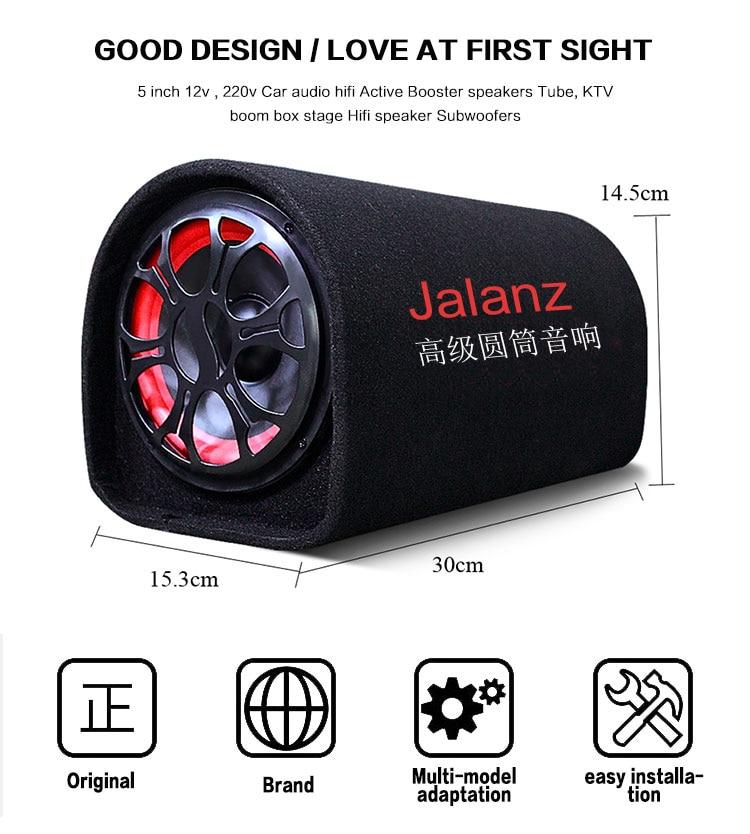 8 Inch 600W Car Speaker Active Subwoofer Car Under Seat Slim