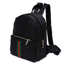 9189P Two Fa backpack for boy schoolbag men black Backpack male boys school bags