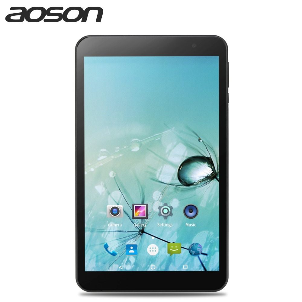 hot Aoson Android 7.0 Tablets 8 inch Quad Core Dual WIFI 5G/2.4G M815 IPS 1280x800 2GB +32GB GPS Bluetooth Tablet PC gift 7 djujmov android 6 0 aoson s7 pro 3 g 4 g telefon quad core 1024600 ips multi touch jekran phablet 8