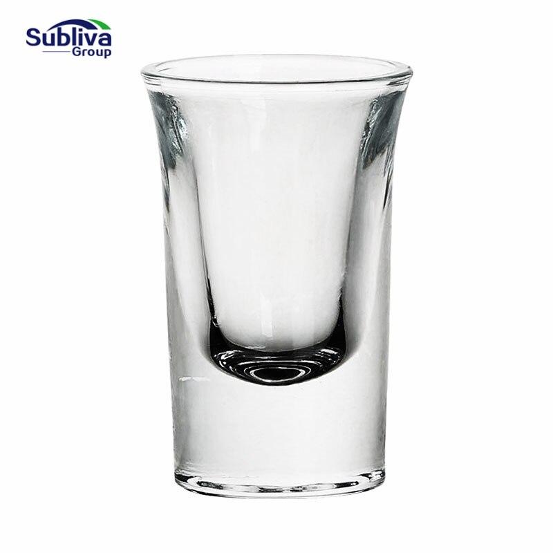 25ml hecho a mano a prueba de calor chupito de vidrio bebidas de Vodka copa de Alcohol copa de Whisky 2019 estilo chino superventas luces decorativas de alta vendimia lámpara de queroseno de cristal de cerámica china candelabros de Camping hogar
