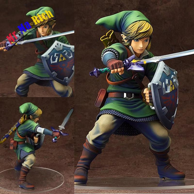 Anime The Legend Of Zelda Link Pvc Action Figures Collectible Model Toys 20cm the legend of jig dragonslayer